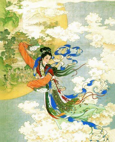 Chang'e image- Chinese Goddess of Beauty